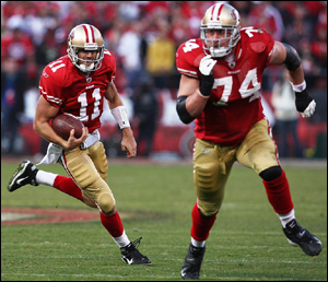 Alex Smith & Joe Staley